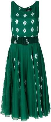 Samantha Sung flared summer dress