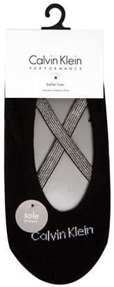 Calvin Klein Sparkle Ballet Liner Socks
