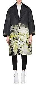 Prada Women's 2-In-1 Beach-Print Coat-Black