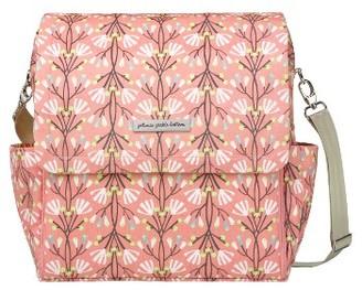 Infant Petunia Pickle Bottom 'Boxy Glazed' Diaper Bag - Pink $189 thestylecure.com