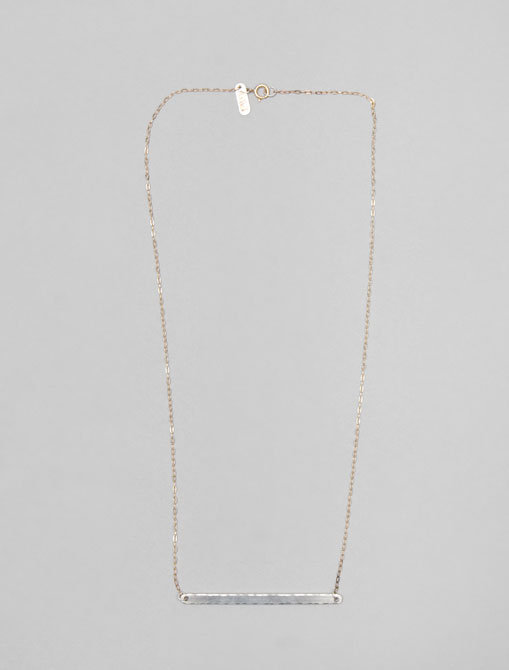 In God We Trust Long Bar Neck Necklace