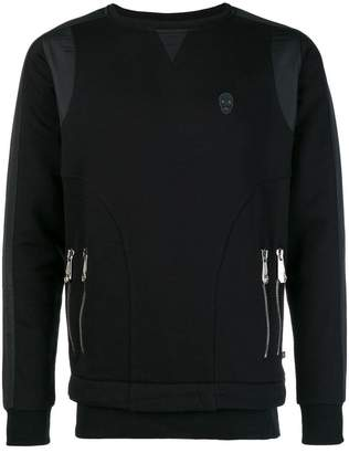 Philipp Plein zip detail sweatshirt