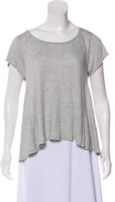 Blank NYC Grey Raglan Top