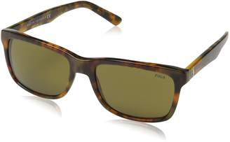 Polo Ralph Lauren Wayfarer Style Sunglasses in Havana PH4098 501773