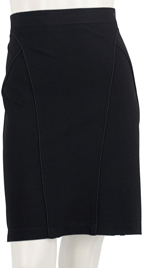 Theory Taslia Pencil Skirt - Black