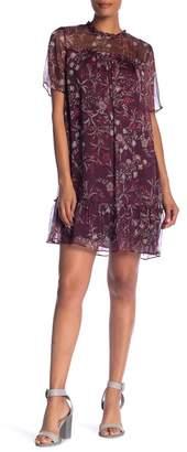Cynthia Steffe CeCe by Floral Mystery Shift Dress (Plus Size)