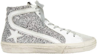 Golden Goose Star Glitter High-Top Sneakers