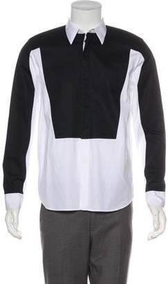 Givenchy Colorblock Button-Up Shirt