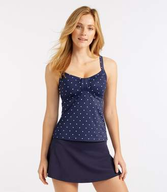 L.L. Bean L.L.Bean Mix-and-Match Swim Collection, Sweetheart Tankini Top Dot