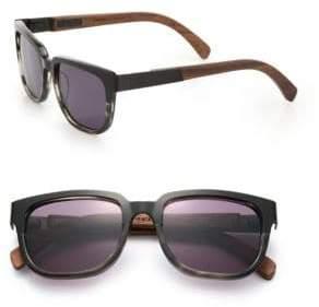 Shwood Prescott 52MM Rectangular Sunglasses