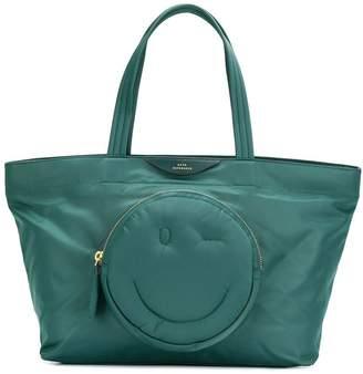 Anya Hindmarch smiley tote bag