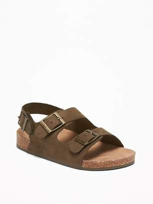 Old Navy Faux-Suede Double-Buckle Sandals for Toddler Boys