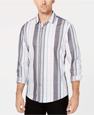Alfani Men's Woven Plaid Shirt