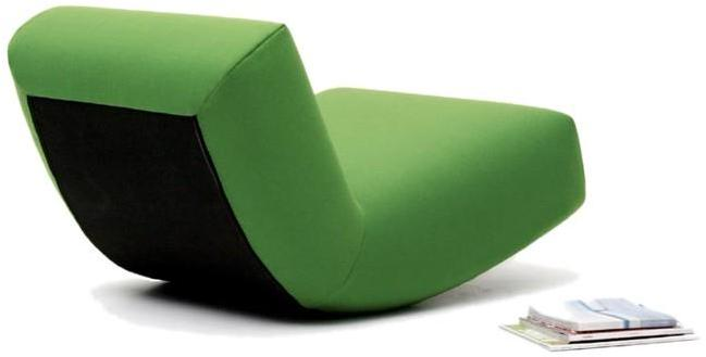 Bensen -'little rock' rocking chair by niels bendsten