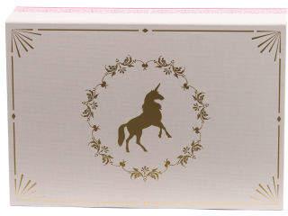 Medium Unicorn Paper Storage Box