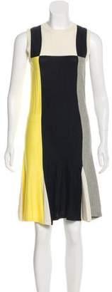 Chanel Colorblock Knit Dress
