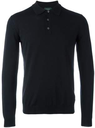 Zanone longsleeved polo shirt