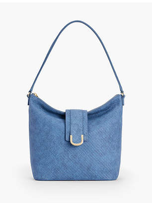 Talbots Woven Leather Hobo Bag