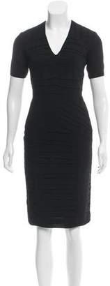 Burberry Tiered Knee-Length Dress