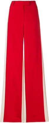 Valentino side stripe palazzo pants