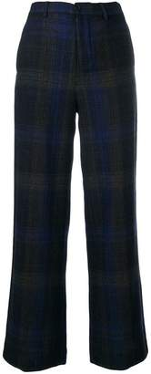 Stephan Schneider straight check trousers