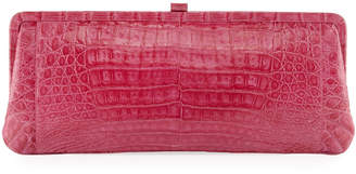 Nancy Gonzalez Small Frame Crocodile Clutch Bag