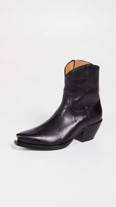 R 13 Cowboy Ankle Boots