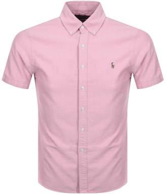 4e68dfc65 Ralph Lauren Slim Fit Short Sleeve Shirts - ShopStyle UK