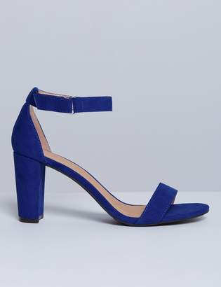 Tall Ankle-Strap Heel