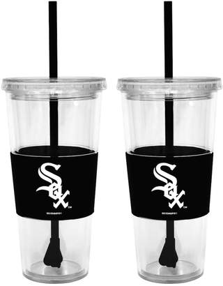 Chicago White Sox 2-pc. Double-Walled Straw Tumbler Set