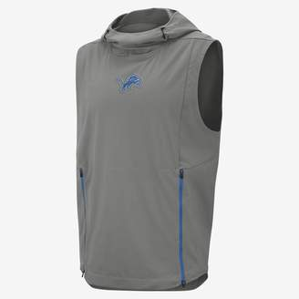 Nike Shield Fly Rush (NFL Lions) Men's Hooded Pullover Vest