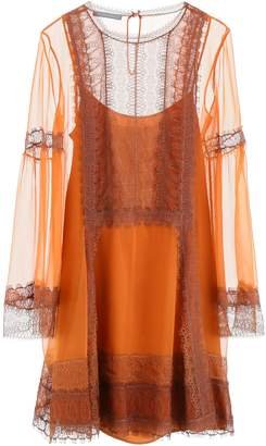 Alberta Ferretti Dress With Lace Details