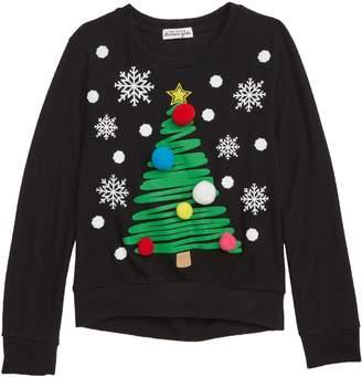 Ten Sixty Sherman Christmas Tree Pompom Sweater