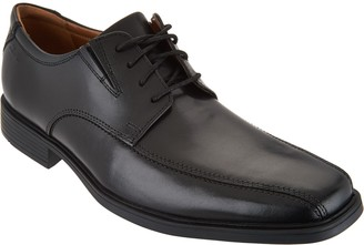 Clarks Men's Leather Lace-up Dress Shoes - Tilden Walk