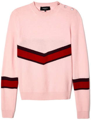 Rochas Pink Pullover Sweater