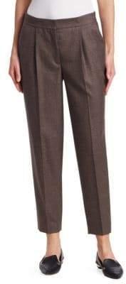 Akris Punto Maiko Wool Ankle Trousers