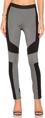 BCBGMAXAZRIA Colorblock Legging $138 thestylecure.com