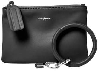 Urban Originals Mariposa Key Ring & Vegan Leather Card Pouch