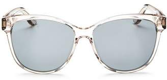 Saint Laurent Women's Oversized Cat Eye Sunglasses, 58mm