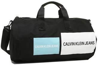 Calvin Klein (カルバン クライン) - AXES カルバンクライン ボストンバッグ アウトレット メンズ レディース CALVIN KLEIN 46301668 400 ブラックマルチ