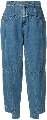 Closed high waisted panelled jeans