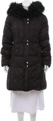 Via Spiga Fur Trimmed Puffer Coat
