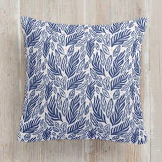 Sea Forage Square Pillow