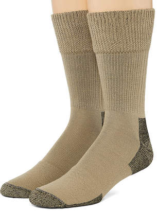 Dr. Scholl's Dr. Scholls Advanced Relief 2 Pair Crew Socks-Mens
