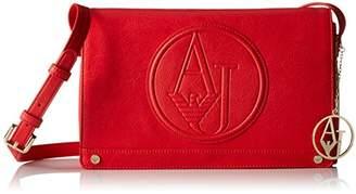 Armani Jeans Eco Leather Logo Crossbody