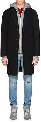 Rag & Bone Men's Principle Reversible Wool-Blend Topcoat