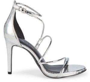 Kenneth Cole New York Bryanna Leather Ankle-Strap Sandals