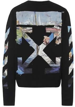Off-White Diagonal Arrows cotton sweatshirt