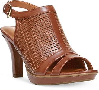 Naturalizer Dania Open-Toe Slingback Dress Sandals $79 thestylecure.com