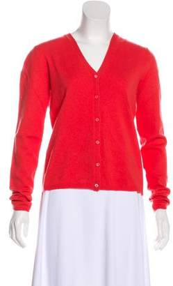TSE Cashmere Button-Up Cardigan